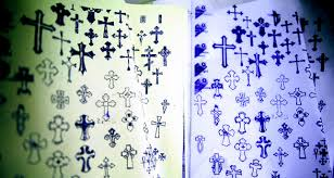 a cross to bare tattoos and tradition in jerusalem daily sabah