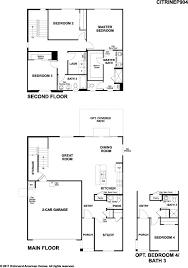 richmond american homes floor plans new homes in buckeye az home builders in sienna hills ii