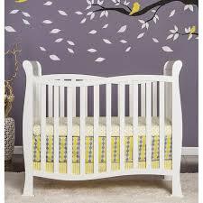 Convertible Mini Cribs On Me Piper 4 In 1 Convertible Mini Crib In White 631 W