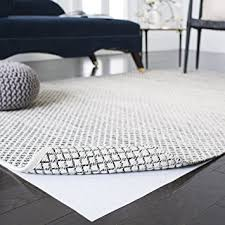 White Area Rug Safavieh Padding Collection Pad125 White Area Rug 5