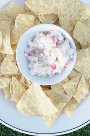 ruby princess creamy cottage cheese salsa dip reluctant entertainer