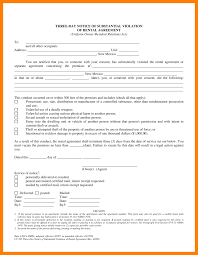 Notice To Terminate Rental Agreement by 9 How To Write A House Notice Later New Hope Stream Wood