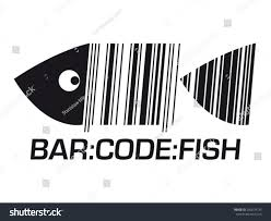 Barcodefish Barcode Fish Bar Codefish Logo Stock Vector 282074735