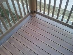composite deck construction modern atlanta by ridgeline