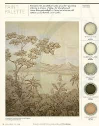 grisaille paint palette interiors by color