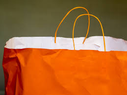 orange and white wallpapers orange and white paper bag free image peakpx