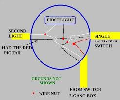 wiring a light switch and outlet together diagram how to wire two lights two switches and one outlet together