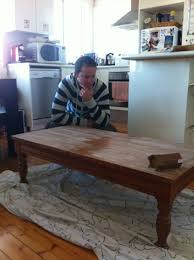 Coffee Table Into Bench Turning A Coffee Table Into A Desk Melo Buzz