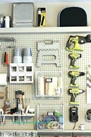 pegboard ideas kitchen garage designs garage pegboard storage systems decoration before