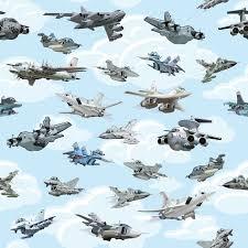 imagenes animadas de aviones fotomural aviones de dibujos animados militar de patrones sin