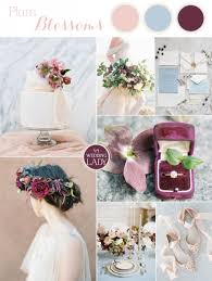 plum wedding fresh wedding colors in plum and powder blue hey wedding