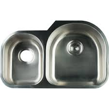 3 Bowl Undermount Kitchen Sink by Glacier Bay Undermount Stainless Steel 31 In 0 Hole Double Bowl