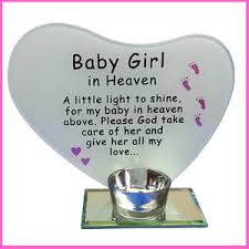 baby girl poems photo poem plaque with tea light candle holder baby girl in heaven
