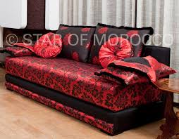 Red Modern Moroccan Living Room - Moroccan living room furniture