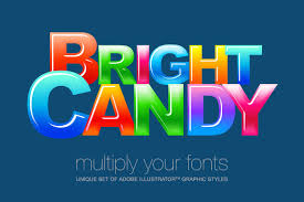 adobe illustrator styles candy layer styles creative market
