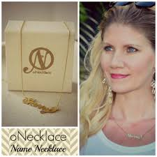 carrie name necklace onecklace review the of the party