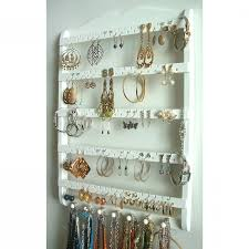 box necklace holder images Wall jewelry box hanging jewelry organizer diy jewelry organizer jpg