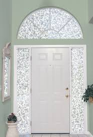 Blinds For Sidelights Tips To Decorate The Sidelight Windows In The Abode U0027s Entrance
