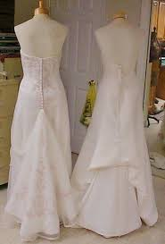 wedding dress bustle bonnieprojects wedding dress wednesday button removeable