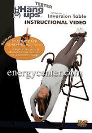 teeter hang ups ep 550 inversion table inversion table instructional dvd teeter hang ups ep 550 dvd only