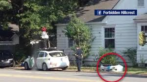 Google Maps Driving A Google Street View Car Crashes Into Another Car In Arkansas