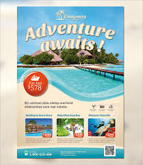 island brochure template travel flyer template 42 free psd ai vector eps format