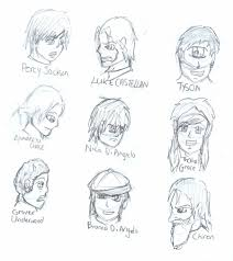 percy jackson drawings of characters u2013 images free download