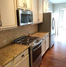 Painting Kitchen Cabinets Before  After Mr Painter Paints - Kitchen cabinets tulsa