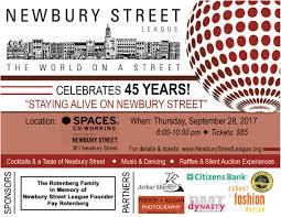 about newbury newbury street league