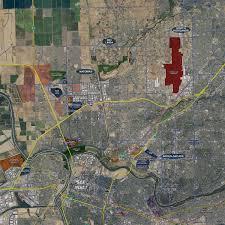 Maps Sacramento Sacramento Aerial Wall Mural Landiscor Real Estate Mapping
