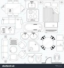 free floor plan vector symbols free diy home plans database