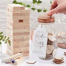alternative guest book wedding wooden alternative guest book wishing jar