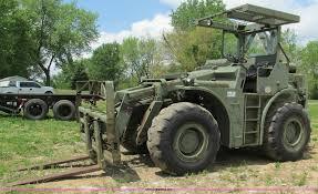 pettibone rough terrain military forklift item f5063 sol