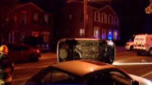 woman killed in single car crash in northeast philadelphia cbs