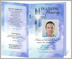 funeral program template photoshop template resume examples