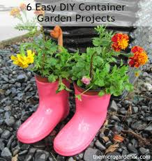 6 easy diy container garden projects the micro gardener