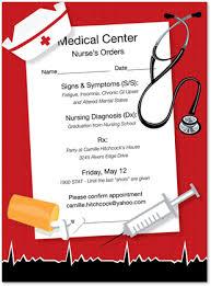 nursing graduation announcements nursing graduation party invitations nursing school graduation
