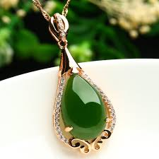 natural jade necklace images 925 silver inlaid jade pendant style custom natural jade and jade jpg