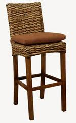 rattan and wicker bar stools pub stools and chairs
