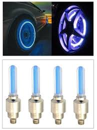 Led Light Color Buy Autosun Car Tyre Led Light With Motion Sensor Blue Color Set