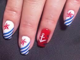 116 best nautical navy marine nail art images on pinterest
