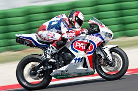 honda gbr qualifying crash leaves smith on misano fourth row wss