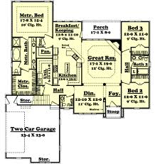 european style house plan 3 beds 2 50 baths 2300 sq ft plan 430 31