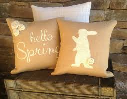 Bunny Rabbit Home Decor 16 Adorable Handmade Decorative Easter Pillows Style Motivation