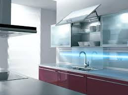 frosted glass backsplash in kitchen frosted glass kitchen wall cabinets wall mounted kitchen cabinets
