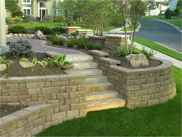 Backyard Pictures Ideas Landscape Best 25 Retaining Wall Blocks Ideas On Pinterest Retaining Wall