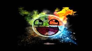 rainbow elemental smiley face wallpaper 2 youtube