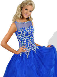 pageant dresses for ritzee tweens t819 bateau neckline gown dress