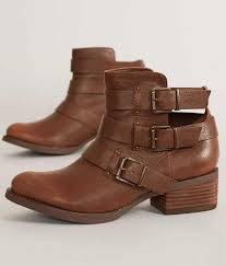 womens motorcycle shoes not rated brydie ankle boot women u0027s shoes in tan buckle