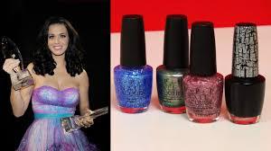 katy perry x opi black shatter nail polish review popsugar beauty